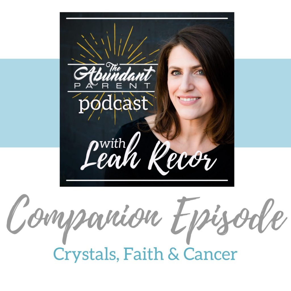 Crystals, Faith and Cancer