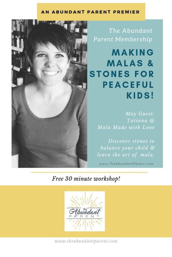 Free 30 Minute Mala Workshop
